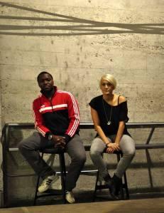 Omari Newton & Luvia Petersen